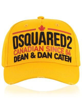 Baseballkappe im Used-Look Canadian Since 64 DSQUARED2
