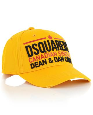 Canadian Since 64 distressed baseball cap DSQUARED2