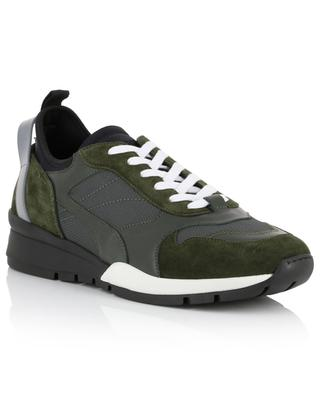 Basic k2 nylon and suede sneakers DSQUARED2