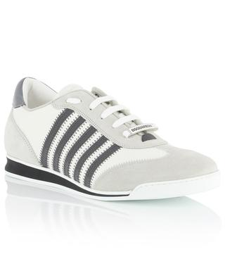 New Runner leather and suede sneakers DSQUARED2
