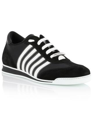 New Runner nylon and suede sneakers DSQUARED2