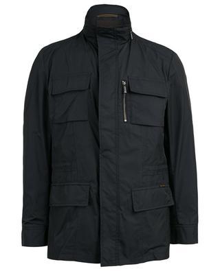 Manolo water-repellent hooded jacket MOORER
