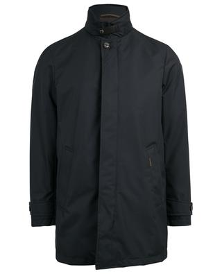 Duca hooded water-repellent coat MOORER