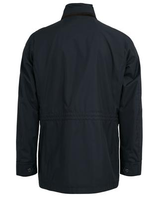 Barber hooded water-repellent coat MOORER