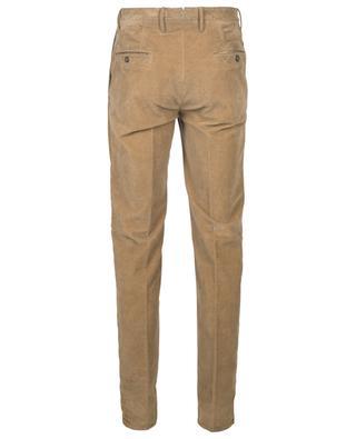 Slim fit cotton-blend corduroy trousers INCOTEX