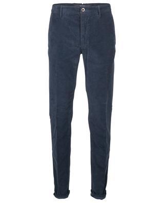 Pantalon slim en velours côtelé INCOTEX