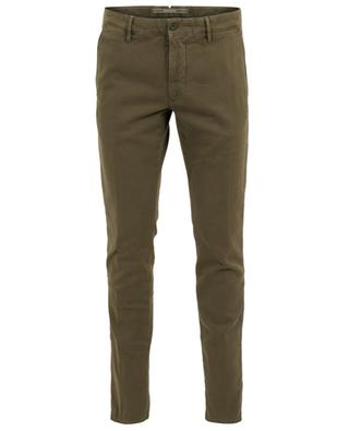 Slim-Fit-Hose mit texturierten Chevrons Slacks INCOTEX