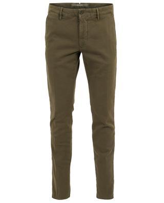 Pantalon slim texturé chevrons Slacks INCOTEX
