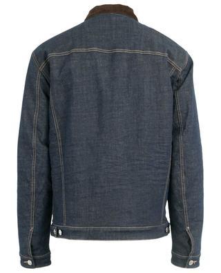 Jeansjacke mit Kordkragen DSQUARED2
