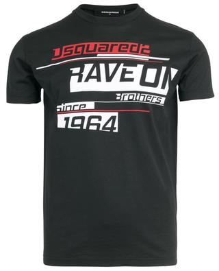 Rave On slim fit slogan T-shirt DSQUARED2