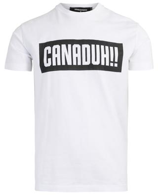 T-Shirt aus Baumwolle Canaduh!! DSQUARED2