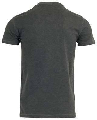 Schmales T-Shirt mit Flock-Print-Logo Chic Dan Fit DSQUARED2