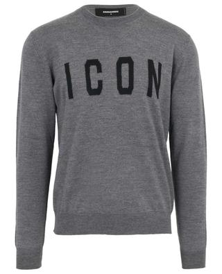 Icon wool round neck jumper DSQUARED2