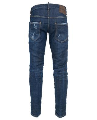 Canoe Run Dan distressed jeans with patch DSQUARED2