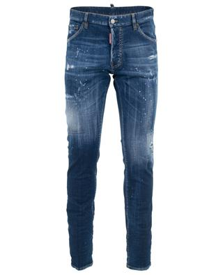 Distressed-Jeans mit Bieretikett Cool Guy DSQUARED2