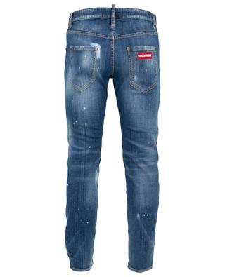 Zerrissene Jeans Run Dan Underpatch DSQUARED2