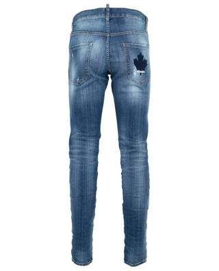 Cool Guy distressed jeans with maple leaf embroiderie DSQUARED2