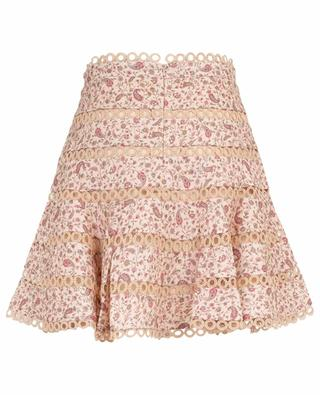 Juniper Contoured Ring short floral skirt ZIMMERMANN