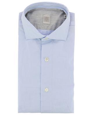 Textured cotton shirt ELEVENTY