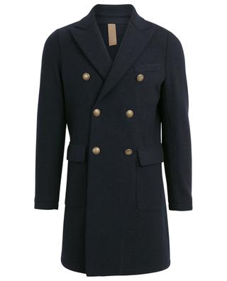 Double-breasted wool coat ELEVENTY