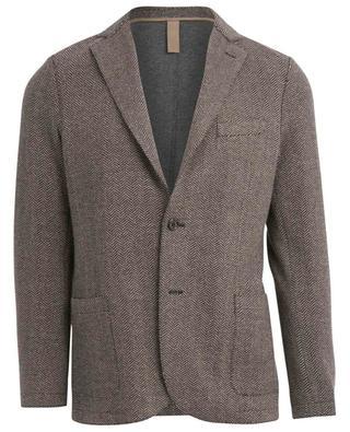 Chevron pattern jersey blazer ELEVENTY