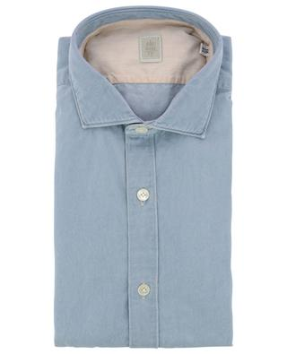 Monochrome cotton shirt ELEVENTY