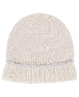 Gerollte Mütze aus Kaschmir ELEVENTY