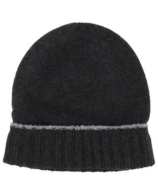 Rolled cashmere beanie ELEVENTY