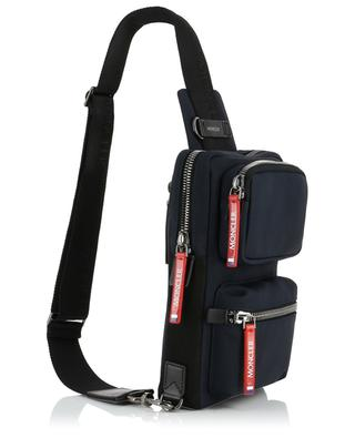 Gardon nylon and leather crossbody bag MONCLER