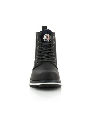 New Vancouver nubuck lace-up boots MONCLER