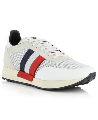 Horase white sneakers with tricolour detail MONCLER