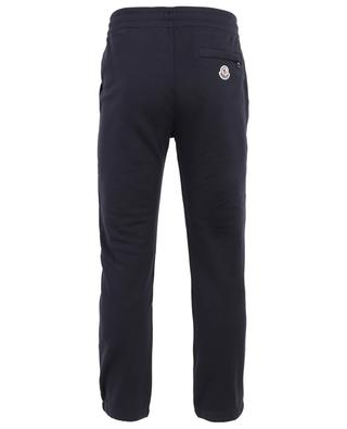 Track trousers with reflecting tricolour detail MONCLER