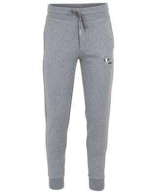 Pantalon de jogging en coton logo Moncler MONCLER