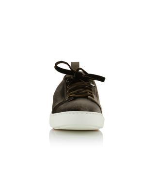 Baskets à lacets en velours SANTONI