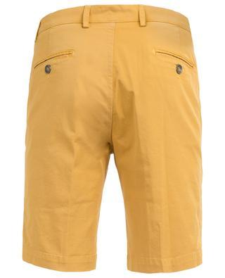 Cotton stretch slim fit Bermuda shorts B SETTECENTO