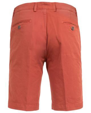 Slim-Fit Bermudashorts aus Baumwollstretch B SETTECENTO