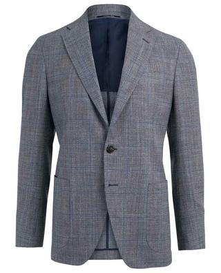 Leichter Blazer aus Seide, Leinen und Wolle NAPOLI COUTURE