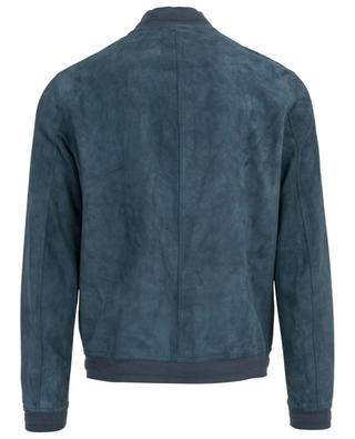 Reversible leather jacket RUFFO