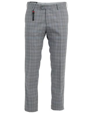 Check virgin wool trousers MARCO PESCAROLO