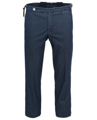 Amalfi cotton and silk trousers MARCO PESCAROLO