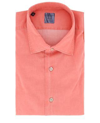Blu cotton shirt MAZZARELLI