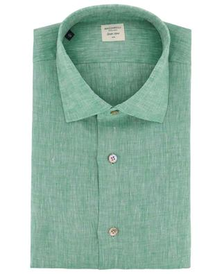 Green Stone linen shirt MAZZARELLI