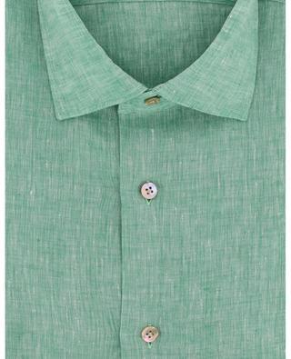Leinenhemd Green Stone MAZZARELLI