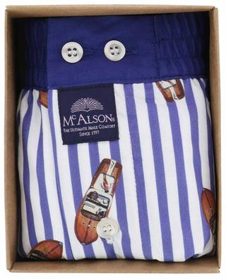 Printed cotton boxer shorts MC ALSON