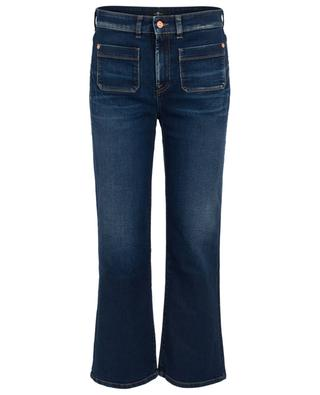 Bootcut-Jeans High Waist Vintage Cropped 7 FOR ALL MANKIND