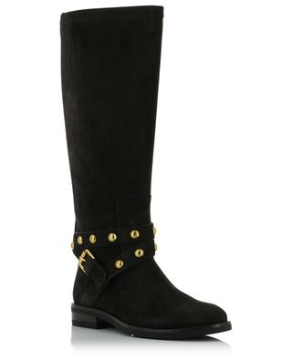 Janis suede boots with studded strap SEE BY CHLOE