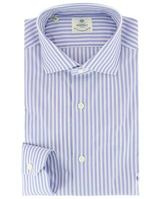 Fabio striped poplin shirt LUIGI BORRELLI