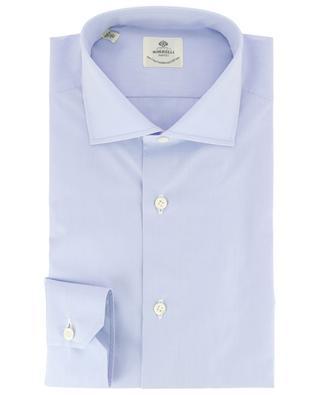 Einfarbiges Hemd aus Popeline Fabio BORRELLI