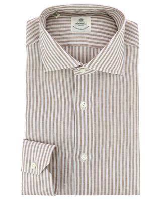 Fabio stripes linen shirt LUIGI BORRELLI