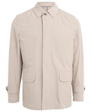 Cotton blend raincoat LUIGI BORRELLI